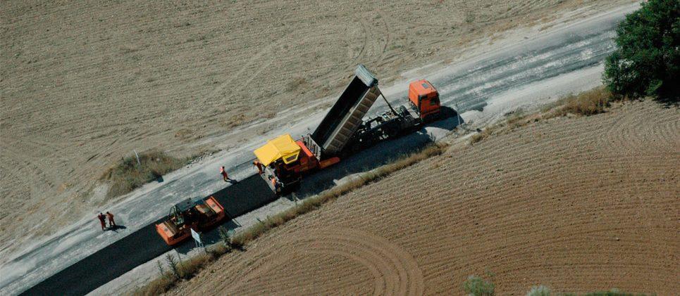 Carretera M-225 Torres de la Alameda – Valverde de Alcalá - Refuerzo de Firme - Reciclado in situ con cemento y MBC