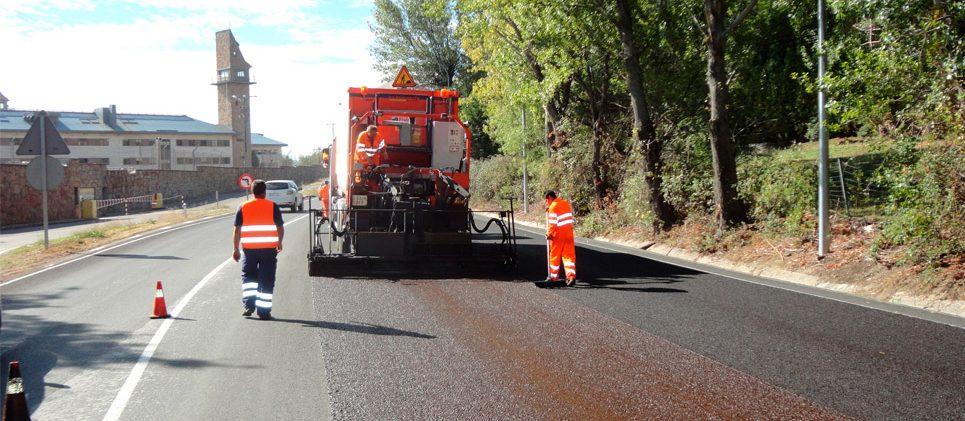 Carretera M-600 (Madrid) - Microaglomerado en frío / lechada bituminosa