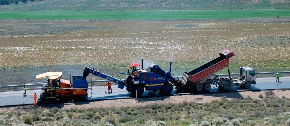 Carretera N-400 Toledo - Aranjuez - Refuerzo de firme
