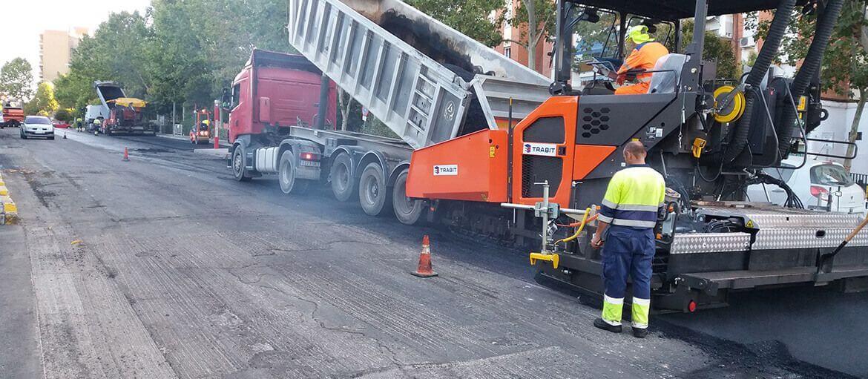Fuenlabrada (Madrid) - Operación asfalto 2016