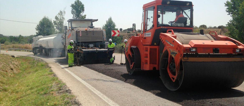 Carretera M-513 (Brunete) - Reciclado con emulsión